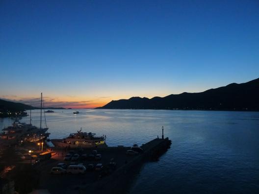 Croatia sunset hvar