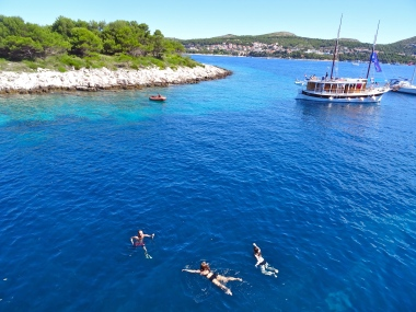 Croatia swiming hvar