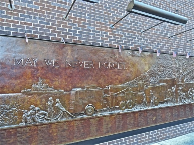 Sept 11 Firefighters wall