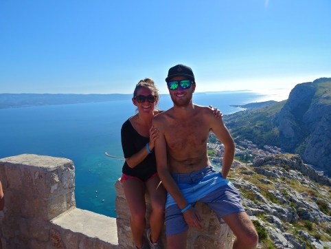 Croatia Me Jimi Omis fortress