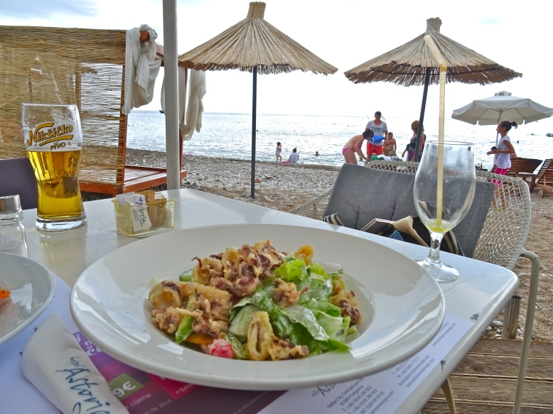 Budva Beach Lunch