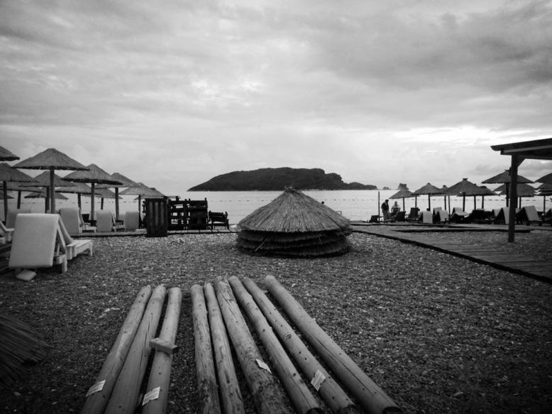 Budva Black and White