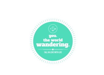 you.theworld.wandering logo