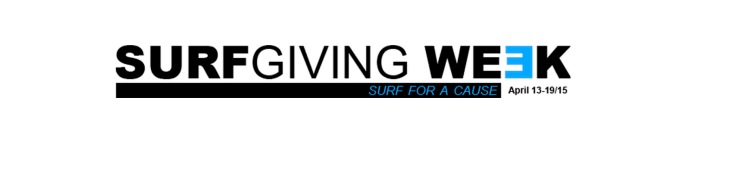 SurfGiving week you.theworld.wandering