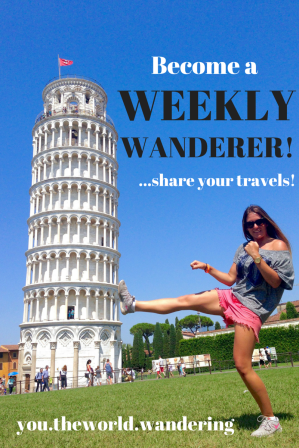 Weekly Wanderer you.theworld.wandering
